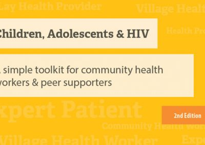 PATA Community Health Worker Toolkit