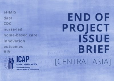 ICAP End of Project Brief – Central Asia