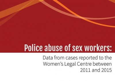 WLC Sex Workers Report